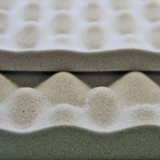 Звукоизоляционный и акустический материал виолон вэл волна 15 мм, лист 0,75 х 1,0 м SGM