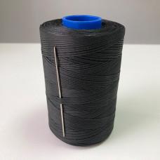 Нитки вощеные P-Plus 1.0/500 Polyester MU (0901) черный