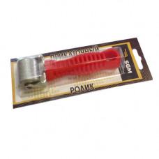 Ролик прикаточный металлический 30 мм, ручка пластик