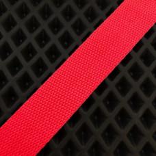 Лента окантовочная стропа для ковриков красная