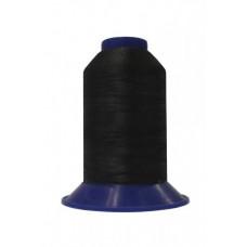 Нитки швейные polyart mt 40/3 3000(901) черный