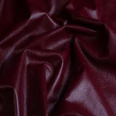 Мебельная натуральная кожа soft сherry